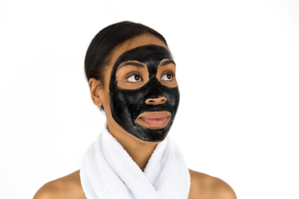 黒フェイスマスク