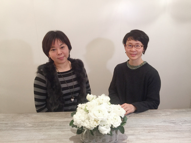 小松和子さんと須長和美さん。