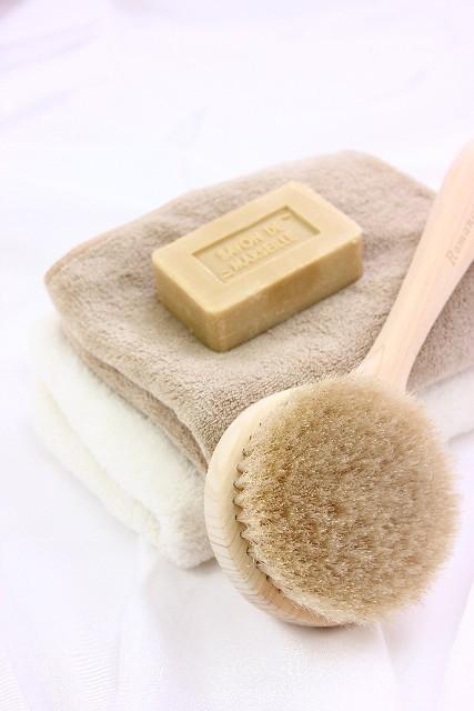 ブラシ石鹸