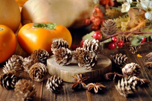秋を堪能しながら香り使いを